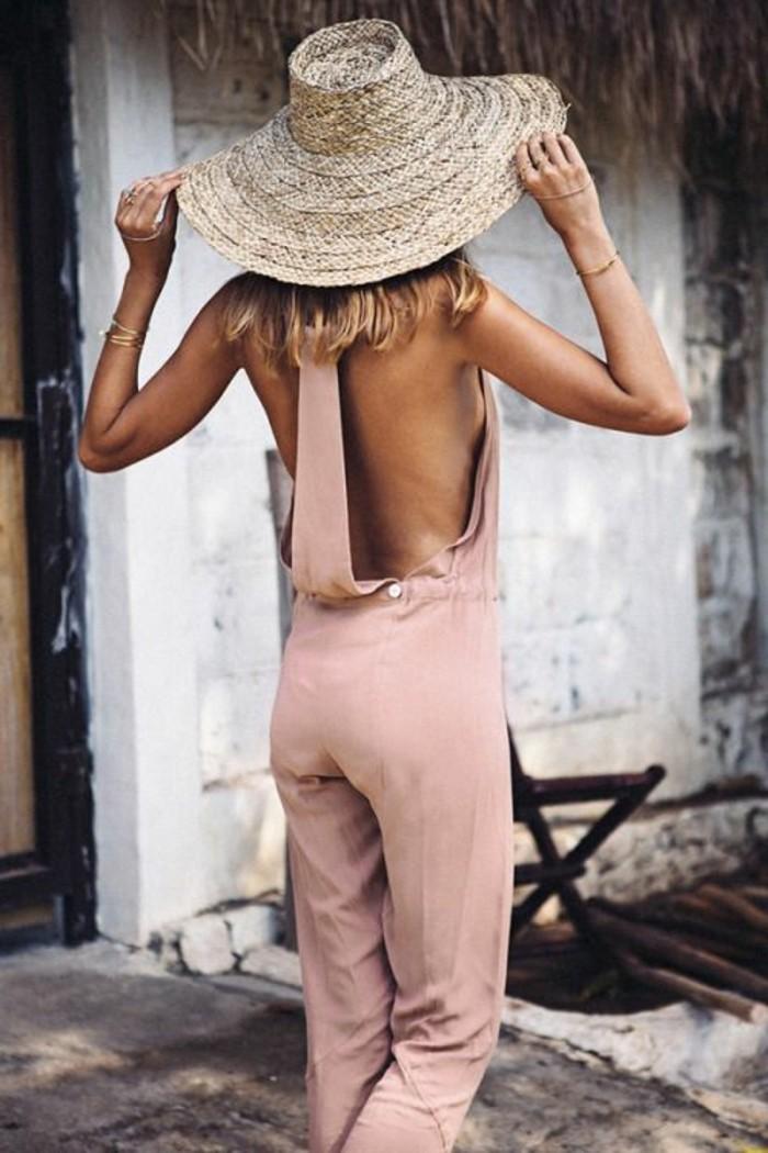 1-rose-pâle-mode-automne-2016-femme-combinaison-d-ete-en-rose-pâle-mode-automne-2016-femme