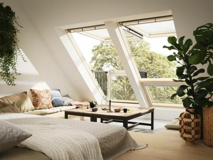 Idee deco chambre combles meilleures images d for La plus belle chambre