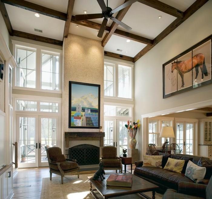 D coration plafond pour se cr er un ciel personnalis for Plafond en bois blanc