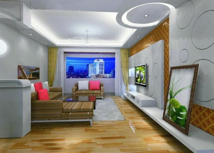 Decoration-plafond-ondulante-en-ronds-resized