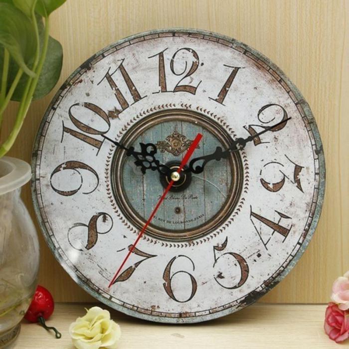 grande-horloge-murale-shabby-chic
