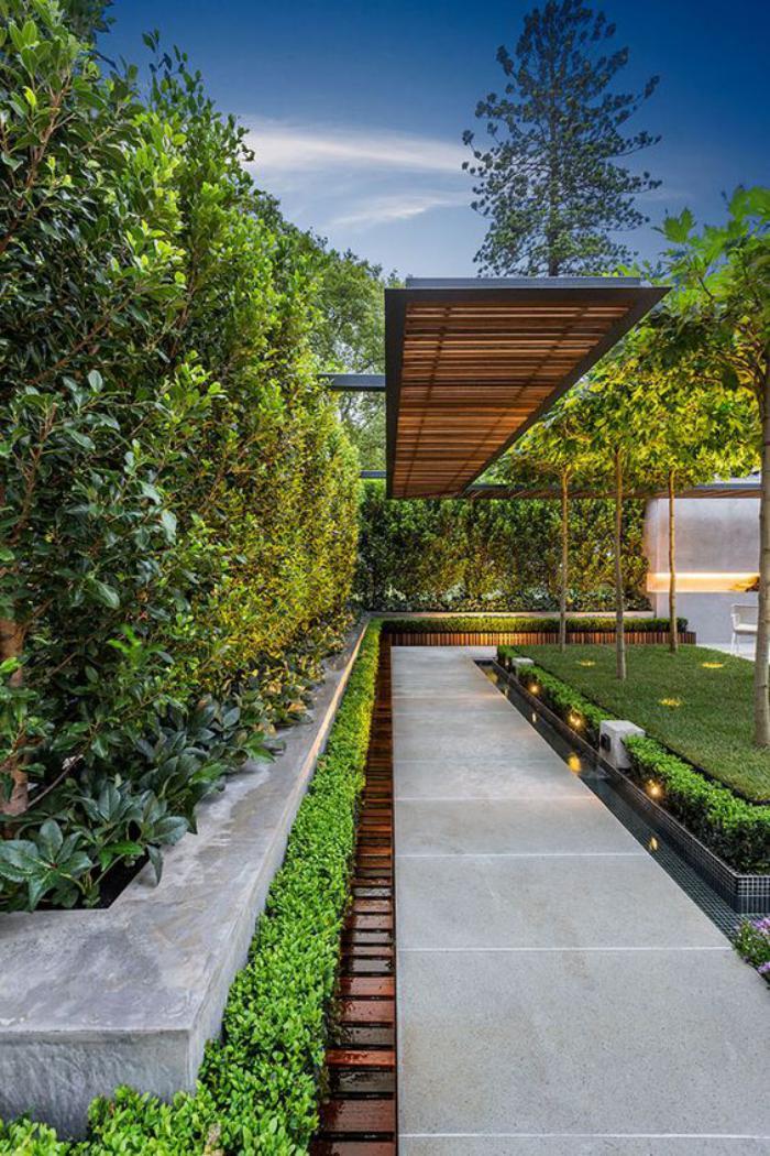 aménagement-extérieur-allée-de-jardin-béton