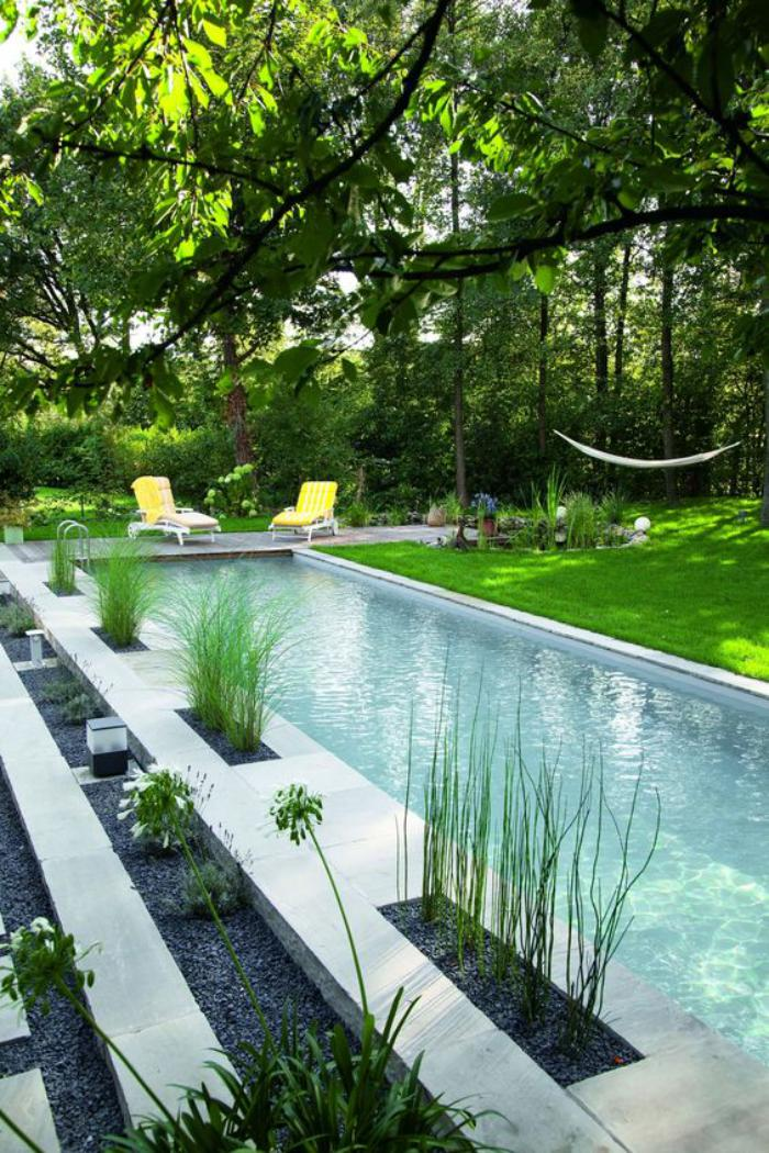 L 39 am nagement ext rieur en plusiuers photos inspiratrices - Amenagement de jardin avec piscine ...