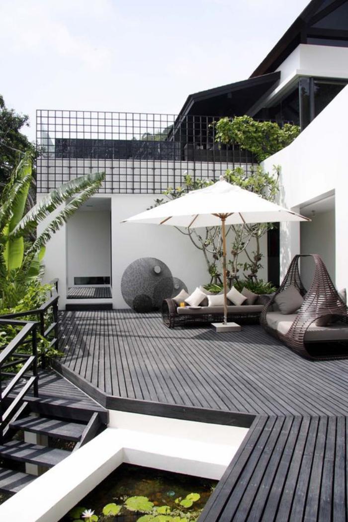 L 39 am nagement ext rieur en plusiuers photos inspiratrices for Amenagement terrasse exterieur jardin