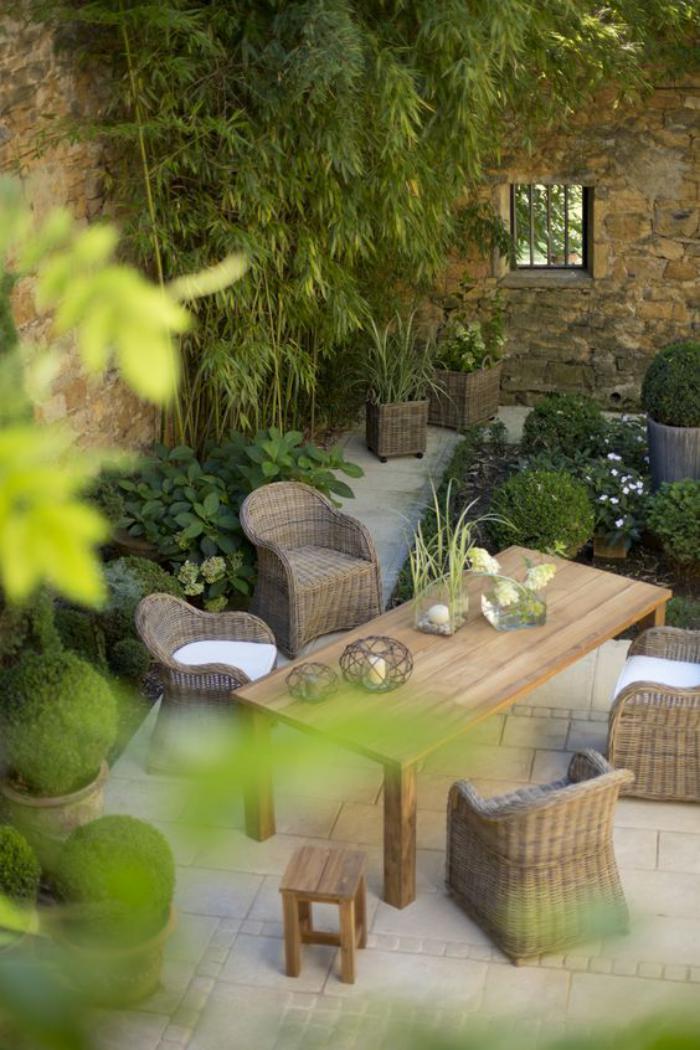 L 39 am nagement ext rieur en plusiuers photos inspiratrices - Exemple de decoration de jardin ...