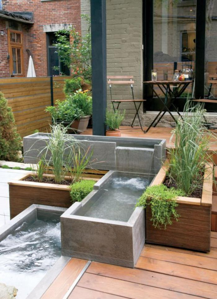 L 39 am nagement ext rieur en plusiuers photos inspiratrices - Mini piscine terrasse ...