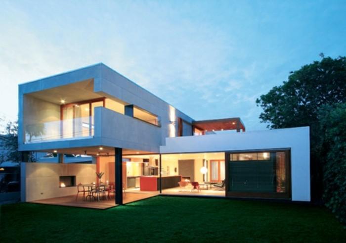 Vous u00eates intéressés par une maison toit plat ? 84 exemples pour votre inspiration! # Maison Bois Moderne Toit Plat