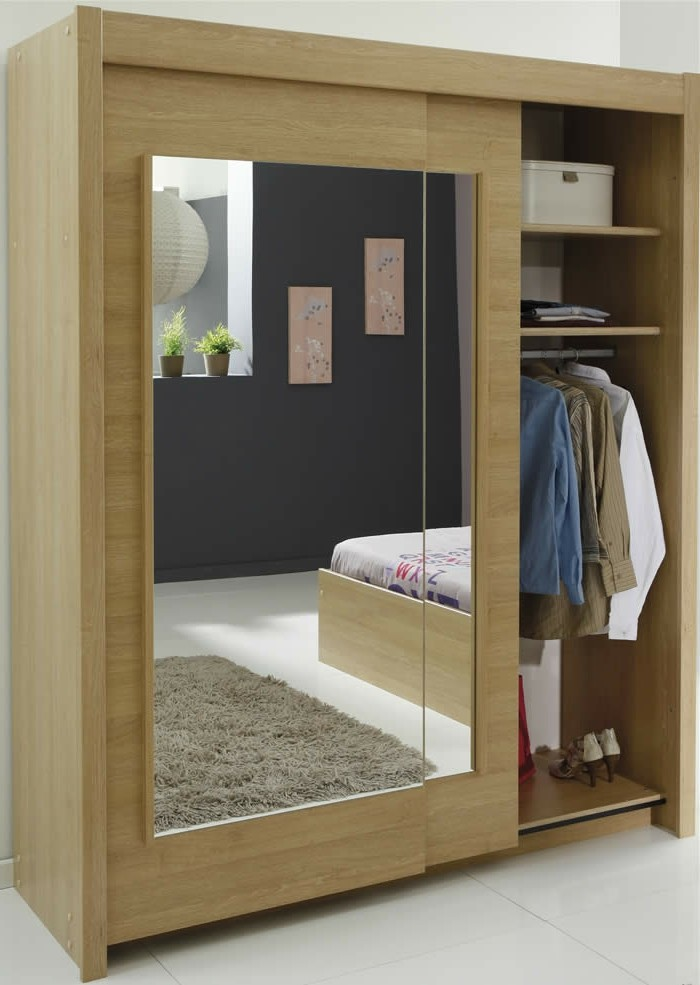 armoire 2 portes coulissantes pour un style de rangement. Black Bedroom Furniture Sets. Home Design Ideas