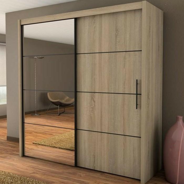 armoire 2 portes coulissantes pour un style de rangement. Black Bedroom Furniture Sets. Home Design Ideas