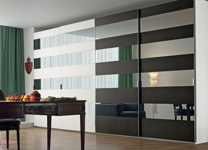 Armoire 2 portes coulissantes pour un style de rangement - Mettre des portes coulissantes ...