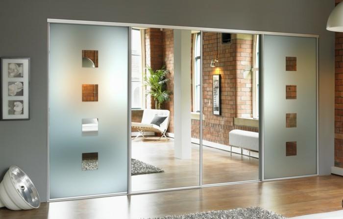 Exceptionnel Porte de chambre avec vitre ~ Solutions pour la décoration  UD93