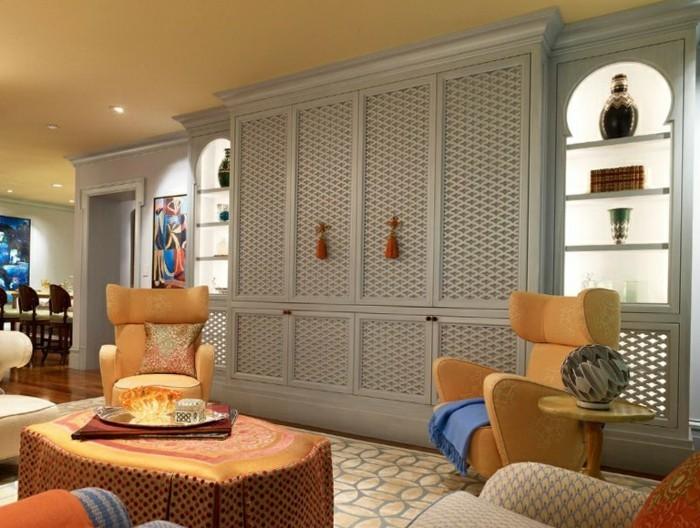 artisanat-marocain-tableau-home-deco-stickers-arabesque