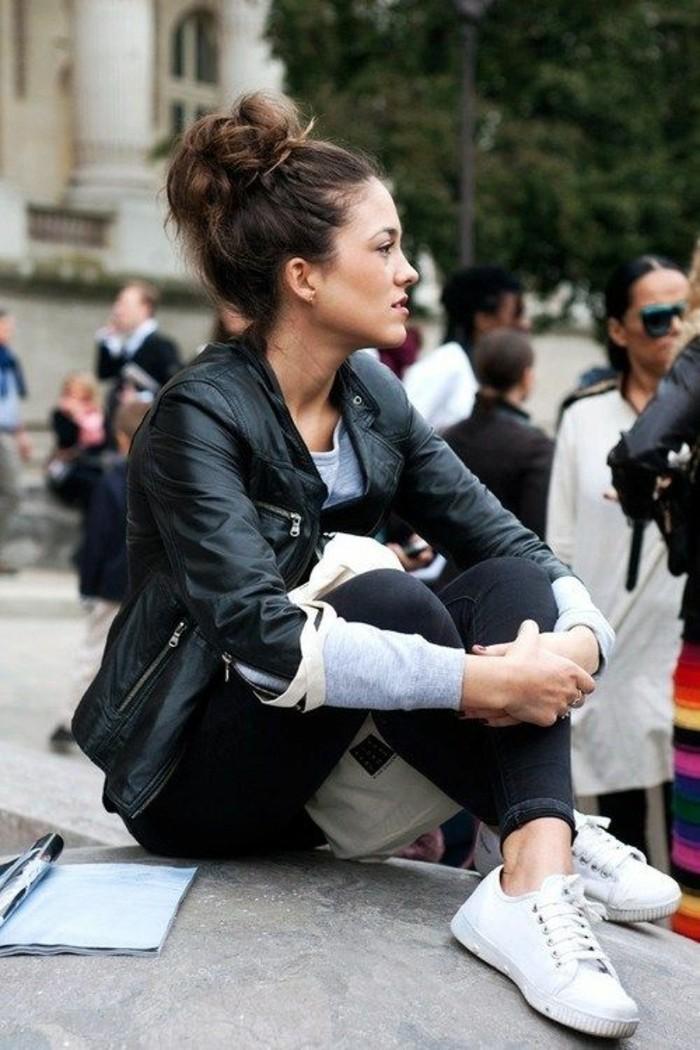 basket-blanche-femme-design-basket-original-femme-veste-en-cuir-noir