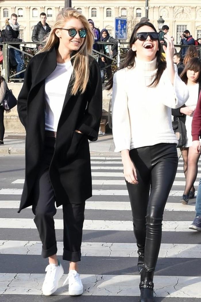 basket-blanche-portee-par-les-stars-sarenza-sneakers-tendances-de-la-mode-manteau-noir