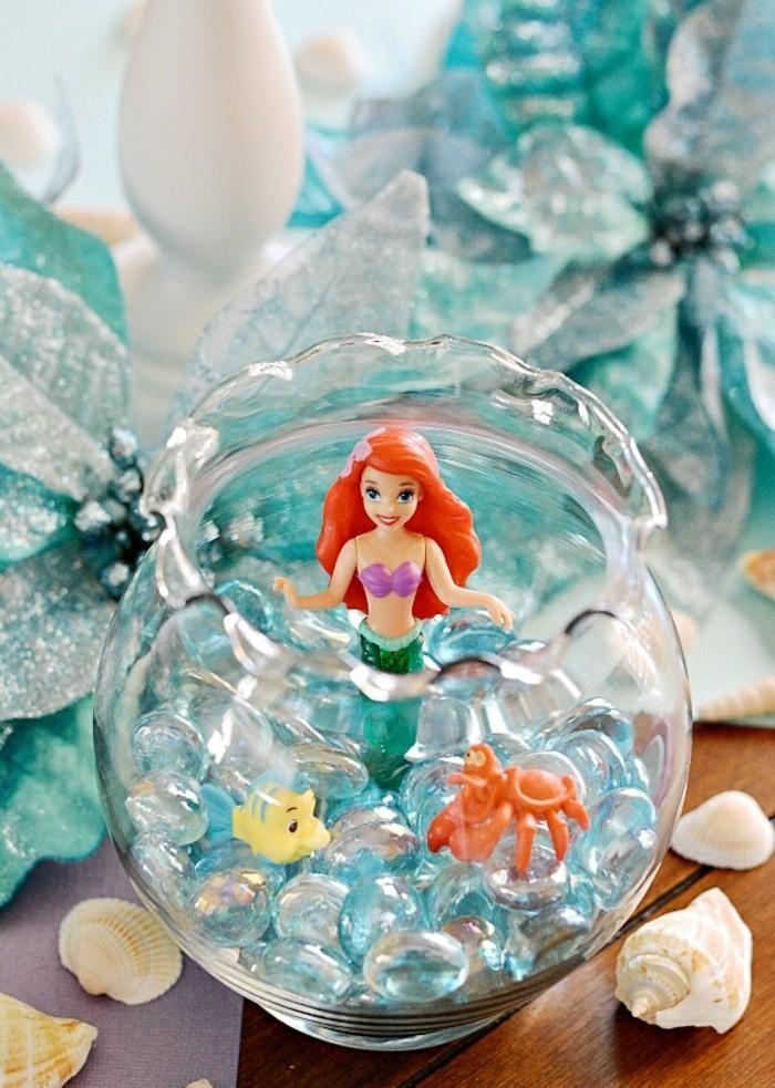 Ariel la petite sirène - idées à organiser votre anniversaire et images à colorer!