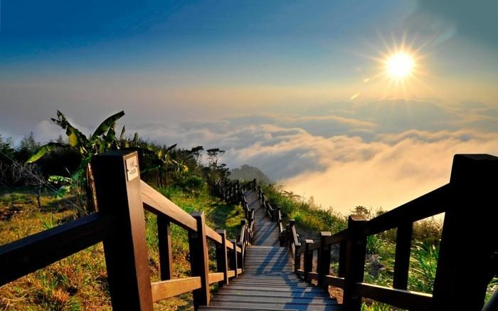 belles-images-soleil-levant-superbe-idée-photo-escalier