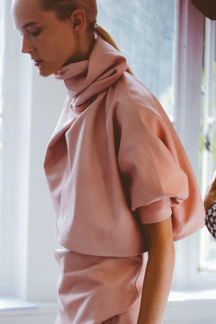 blouse-rose-design-femme-tendances-de-la-mode-blouse-rose-cendre-femme-tendances