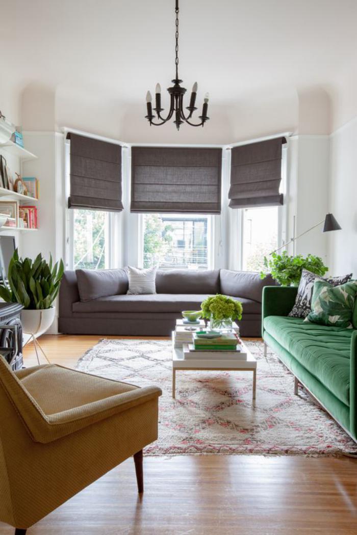 Mettez un canap vert et personnalisez l 39 int rieur - Interieur et canape ...