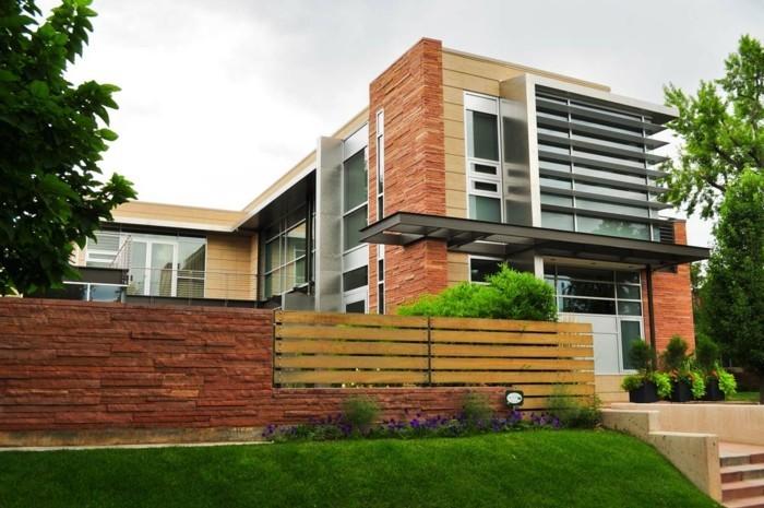 Vous-êtes intéressés par une maison toit plat ? 84 exemples pour ...