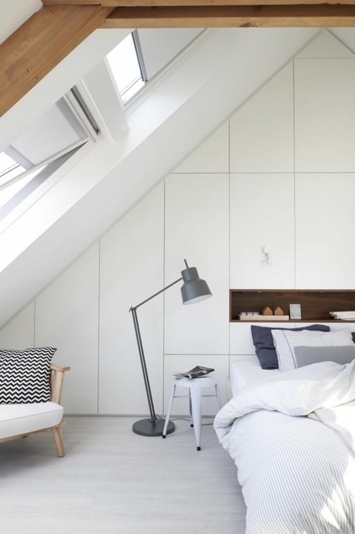 chambre-à-coucher-sous-pente-amenagement-sous-combles-nos-idées-deco-chambre-mansardee