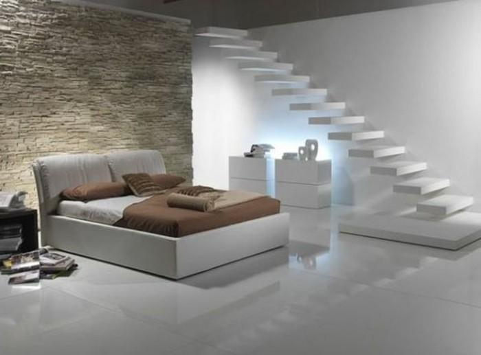 chambre-a-coucher-de-luxe-parement-de-pierre-sol-en-dalles-grandes-faiences-blancs