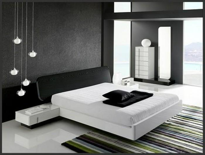 chambre-adulte-design-chambre-noire-et-blanche