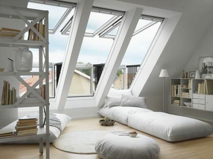 Tout pour votre chambre mansard e en photos et vid os - Comment disposer les meubles dans une chambre ...