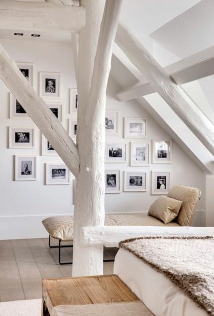 chambre-mansardée-chambres-dans-les-combles-interieur-scandinaf-sol-en-planchers