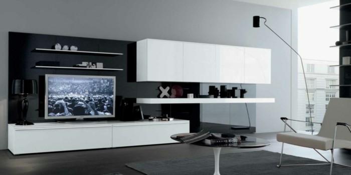 chambre-noire-et-blanche-chambre-adulte-design