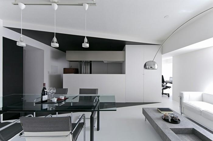 Chambre noire et blanche signification des couleurs et combinaisons en 80 p - Chambre blanche et argentee ...