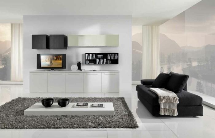 chambre-noire-et-blanche-décoration-chambre-adulte-chambre-adulte-design