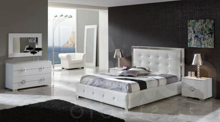 chambre-noire-et-blanche-décoration-chambre-adulte-chambre-grise