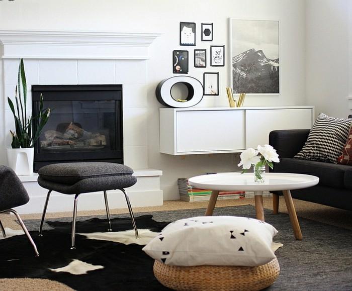 Decoration Chambre Grise Et Blanche