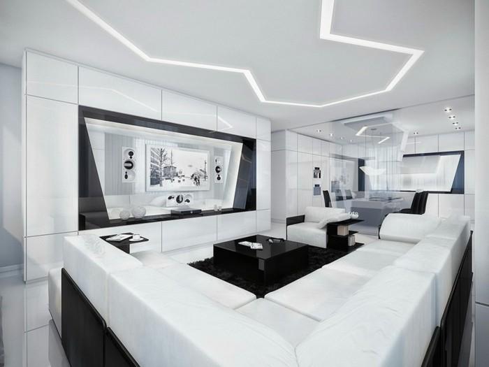 chambre blanche meuble noir. Black Bedroom Furniture Sets. Home Design Ideas