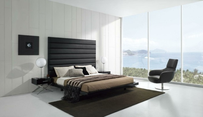rideaux chambre coucher rouge et noir. Black Bedroom Furniture Sets. Home Design Ideas