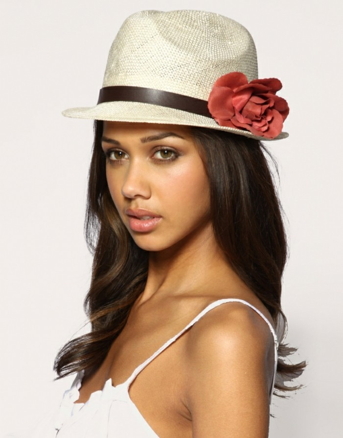 Chapeau femme été qui souligne votre magnétisme et votre charme ...