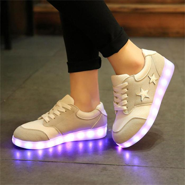 chaussures-lumineuses-clignotantes-lumières-changeables