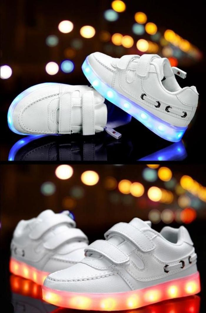 chaussures-lumineuses-lumières-led-rechargeables