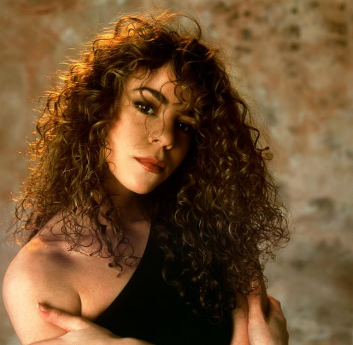 cheveux-bouclés-coiffures-des-stars-Mariah-Carey