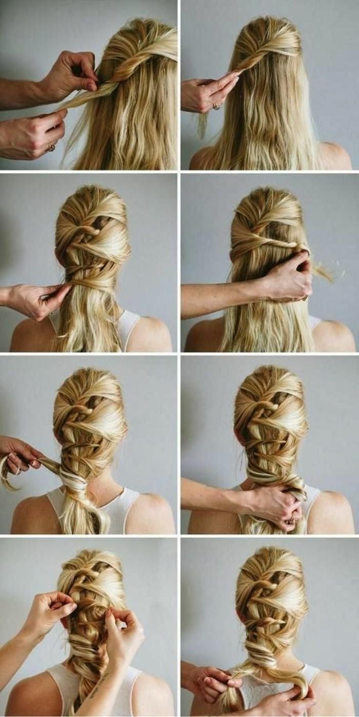 cheveux-longs-blonds-tuto-coiffure-cheveux-mi-longs-idée-de-coiffure-femme-cheveux-blonds