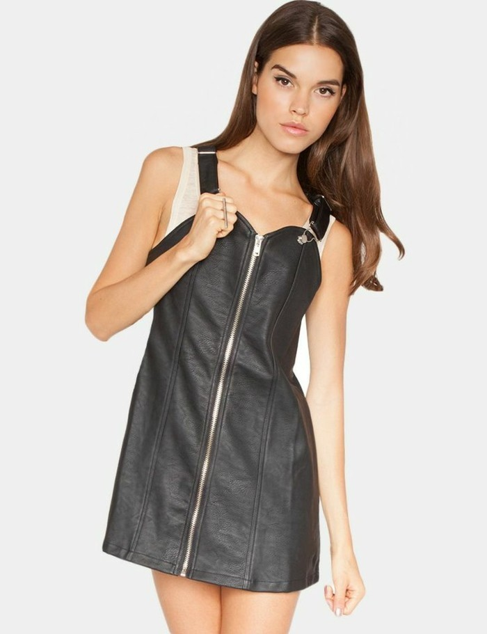 chic-la-robe-longue-zara-salopette-robe-cool-idée-tenue