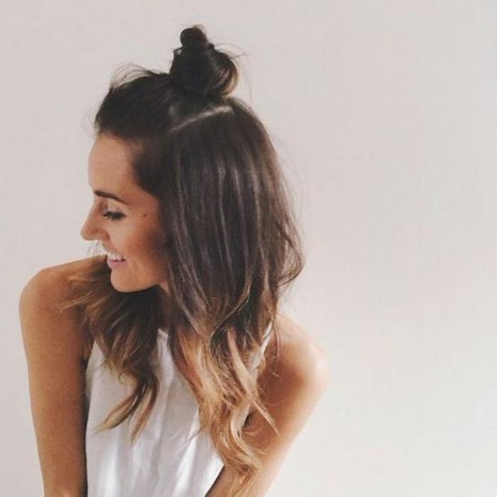 chignon-mignon-et-petit-tendance-coiffure-2016-coiffure-d-été-tendances