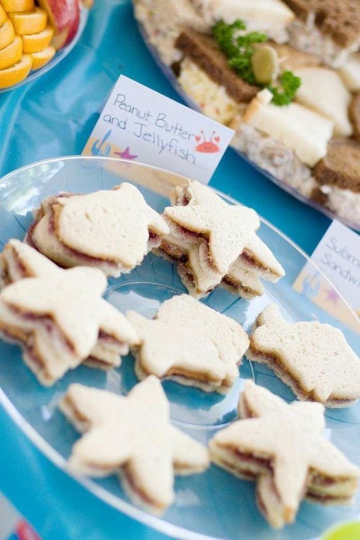 chouette-idée-déco-ariel-petite-sirène-sandwiches
