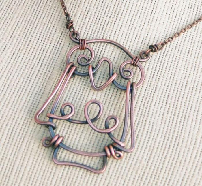 collier-hibou-bijoux-pendentif-en-fil-tordu