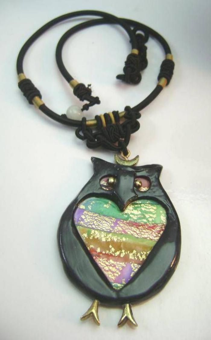 collier-hibou-créations-bijoux-uniques