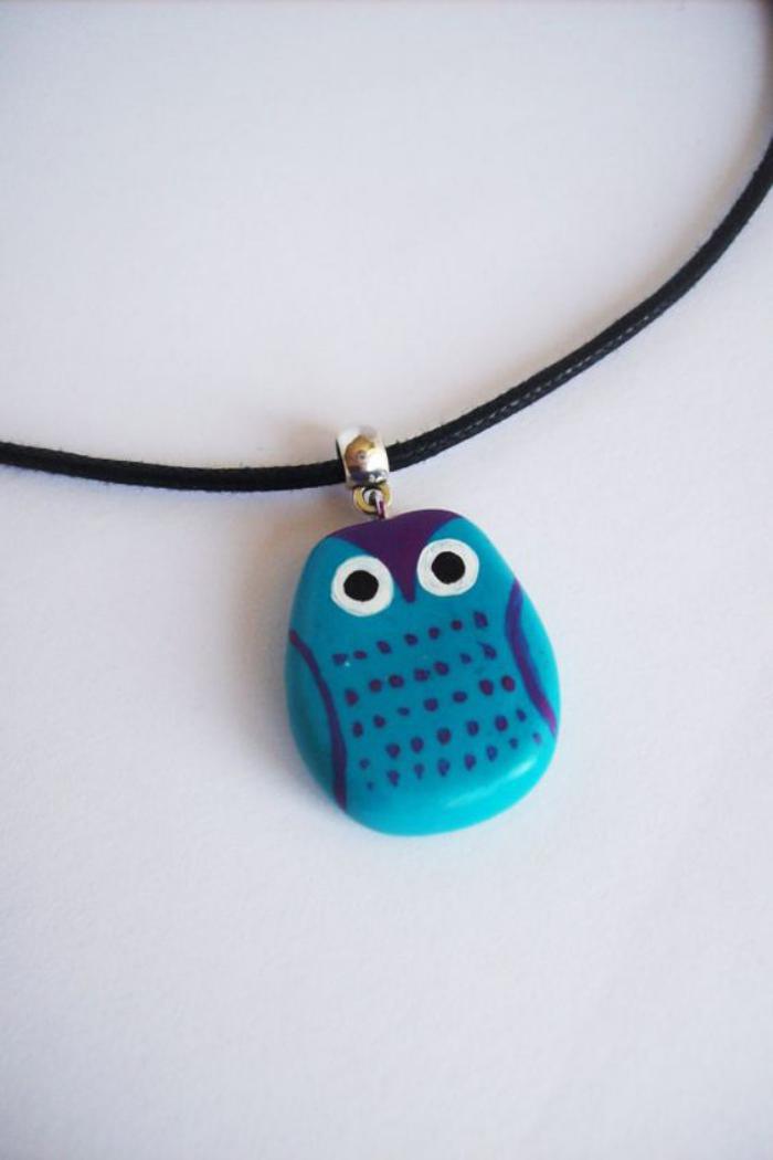 collier-hibou-pendentif-chouette-bleue