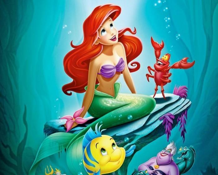 Ariel la petite sir ne id es organiser votre anniversaire et images colorer - Image petite sirene ...