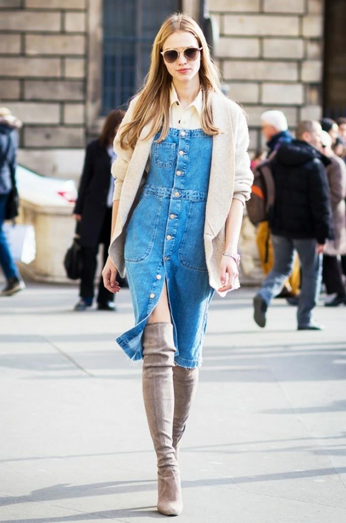 combinaison-femme-chic-jupe-combinaison-cool-modele
