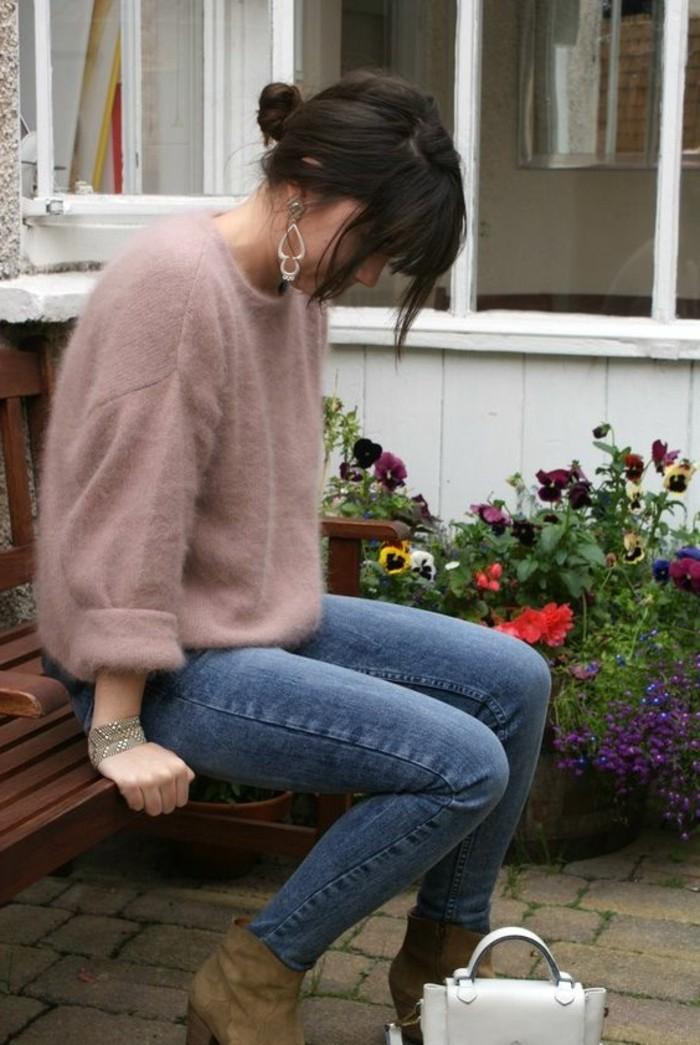 comment-porter-le-rose-pâle-denim-bleu-foncé-vetements-collection-printemps-ete-2016