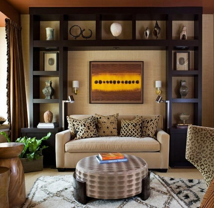 Design d 39 int rieur avec meubles exotiques 80 id e for Decoration du sejour